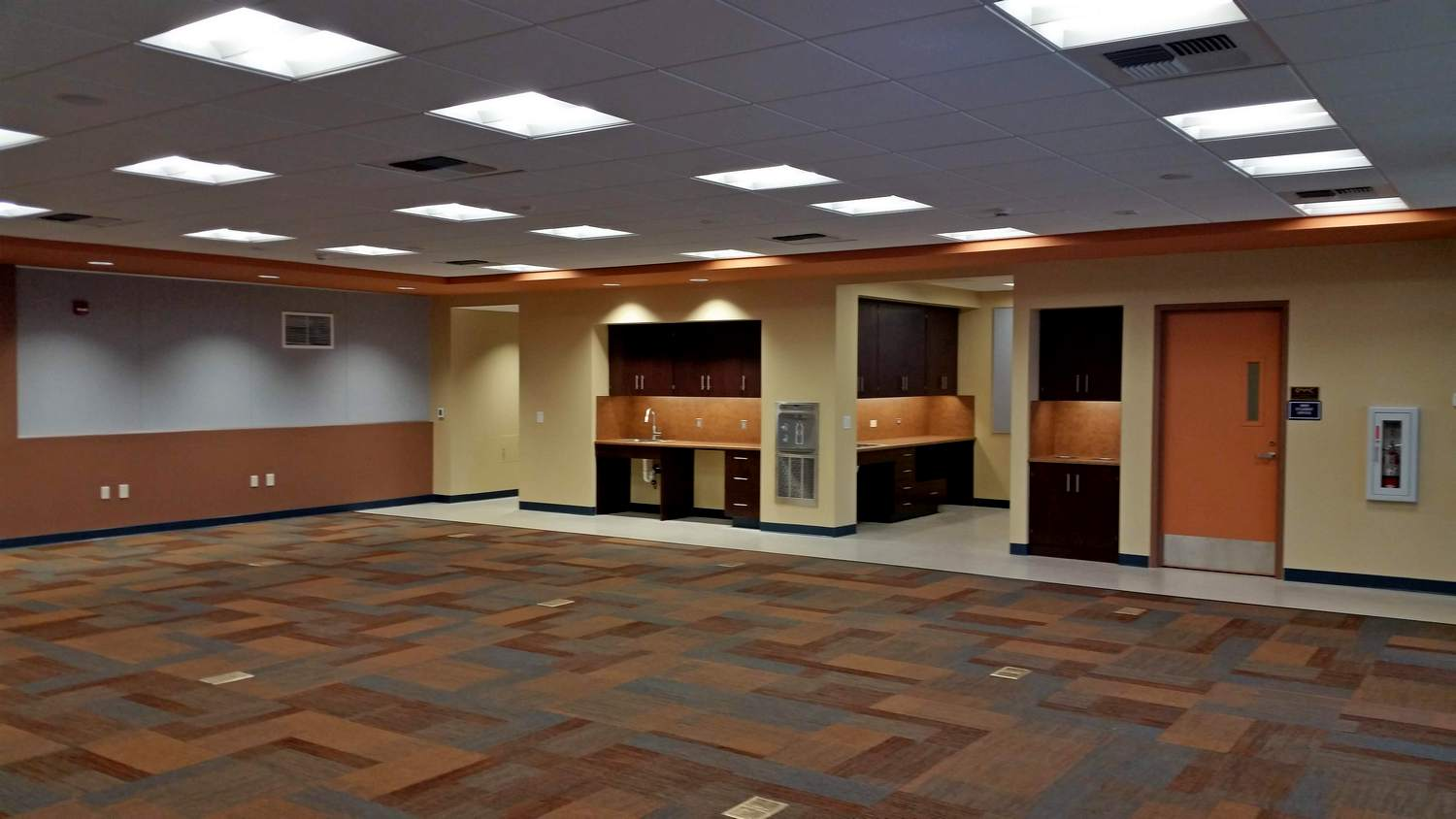 Copper Mountain College Academic Room - Project